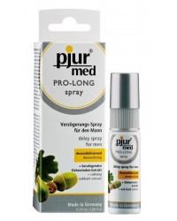 Пролонгирующий спрей pjur MED Prolong Spray 20 мл с натуральным экстрактом дубовой коры и пантенолом
